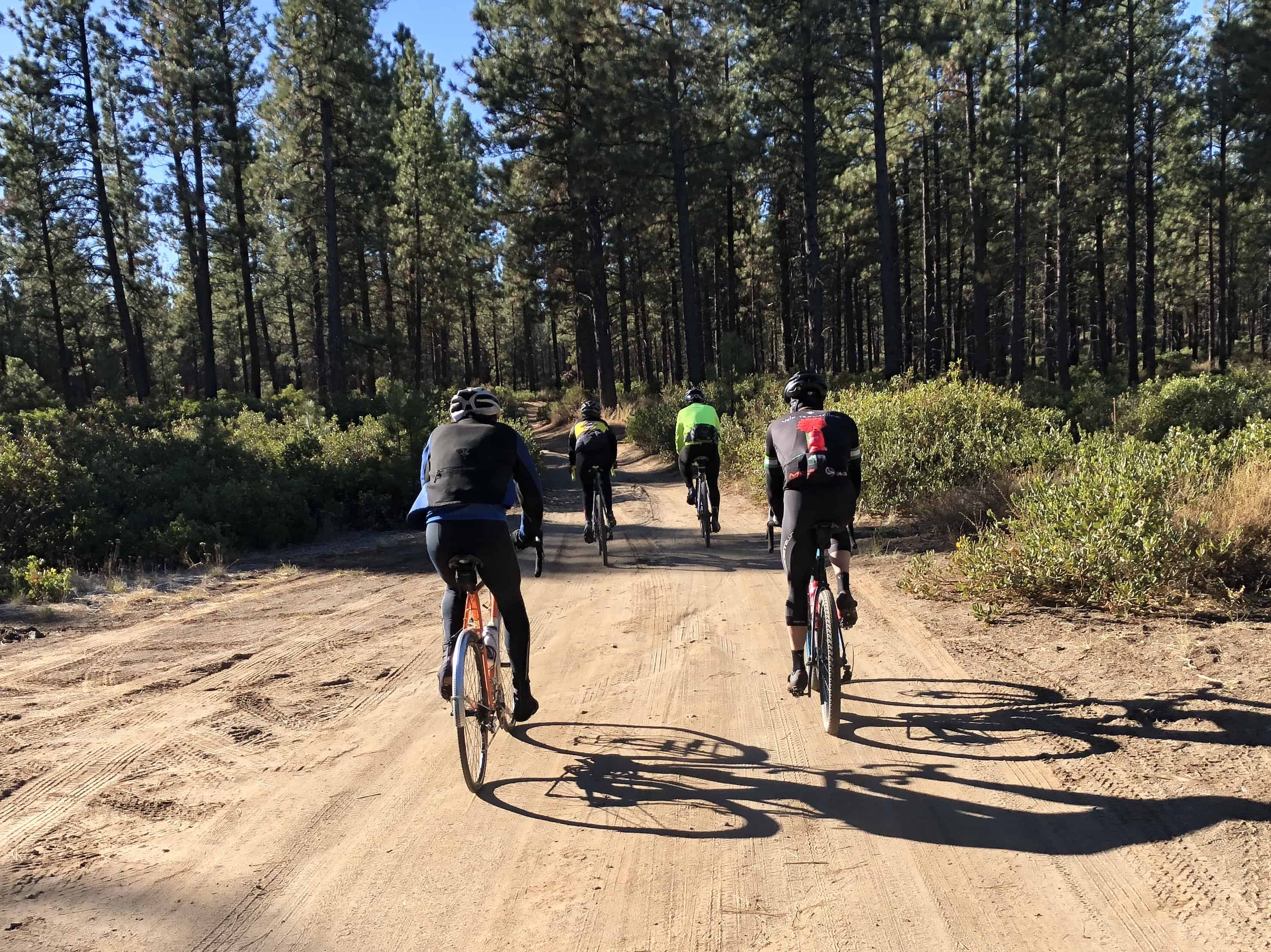 Cyclysts on Phil's Trail, Bend, Oregon
