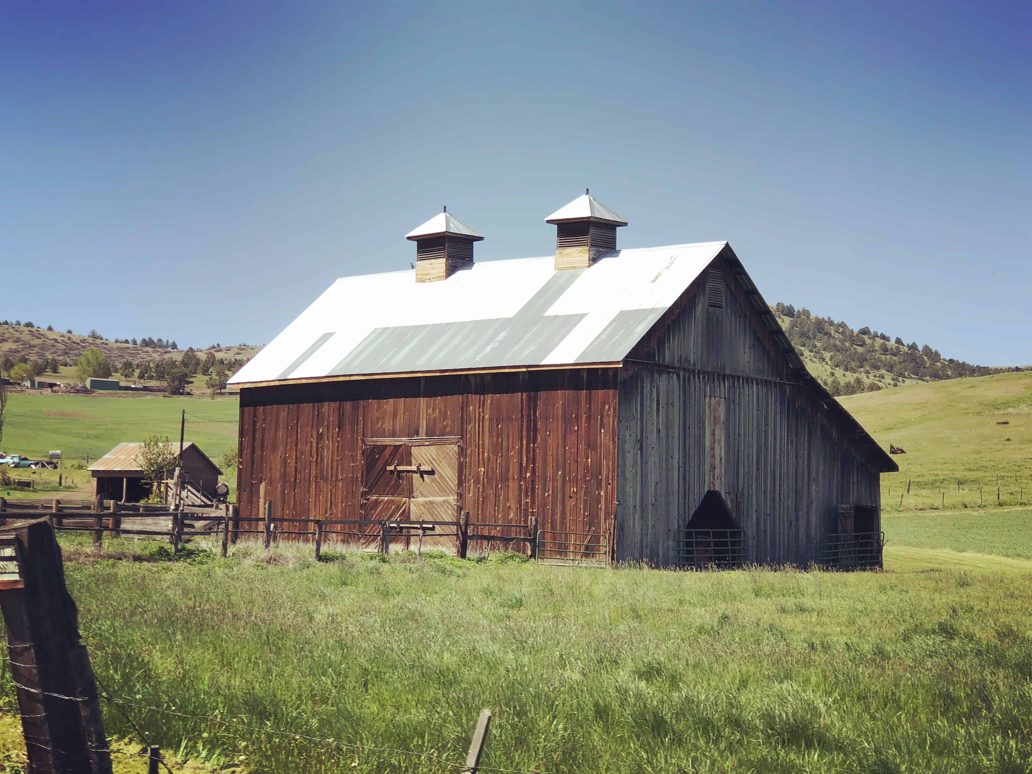Barn along the Journey Through Time Scenic Byway