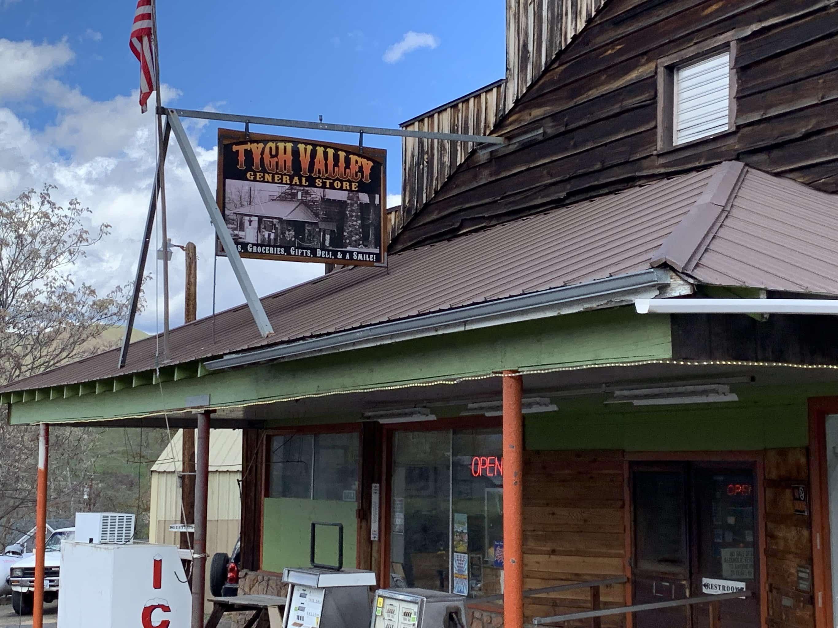 Old homestead near White River falls.