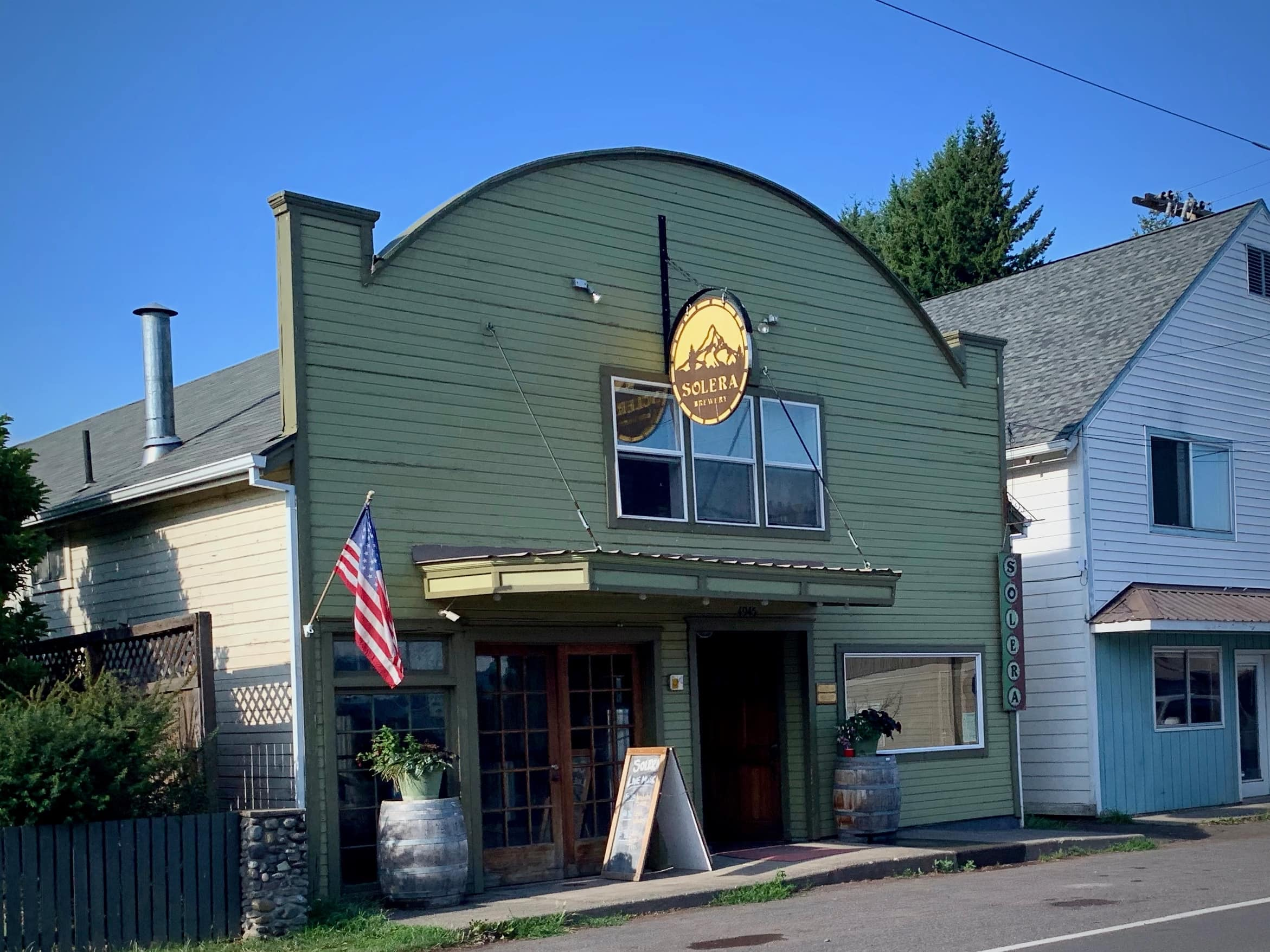 Solera Brewery in Parkdale, Oregon.