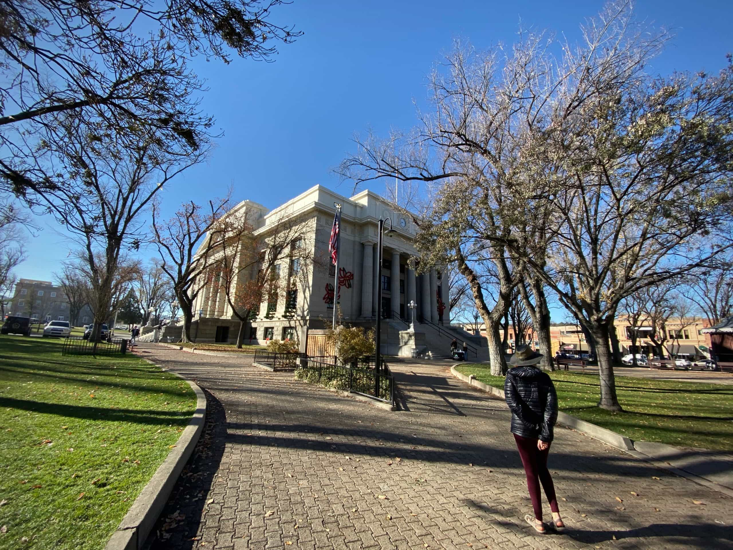 Yavapai courthouse in Prescott, AZ. The starting point for the ride.