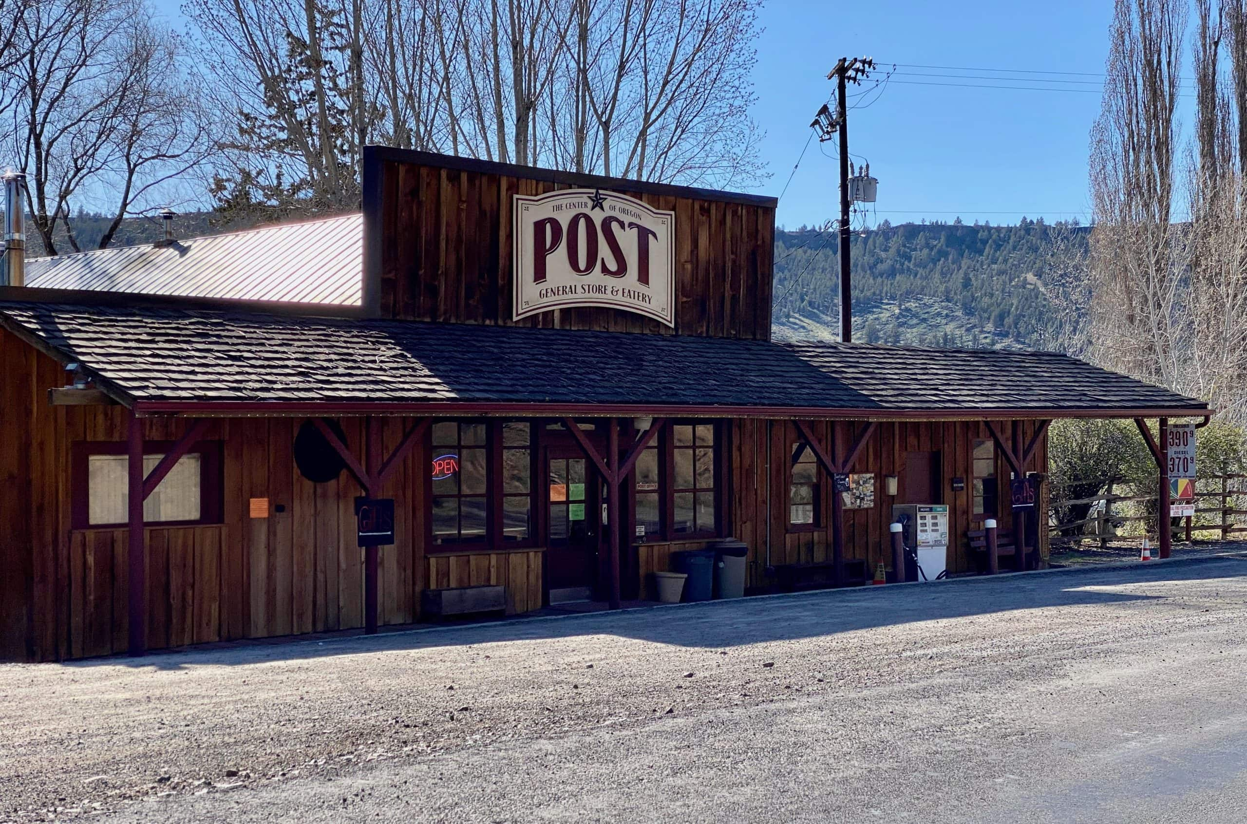 Post General store in Central Oregon.