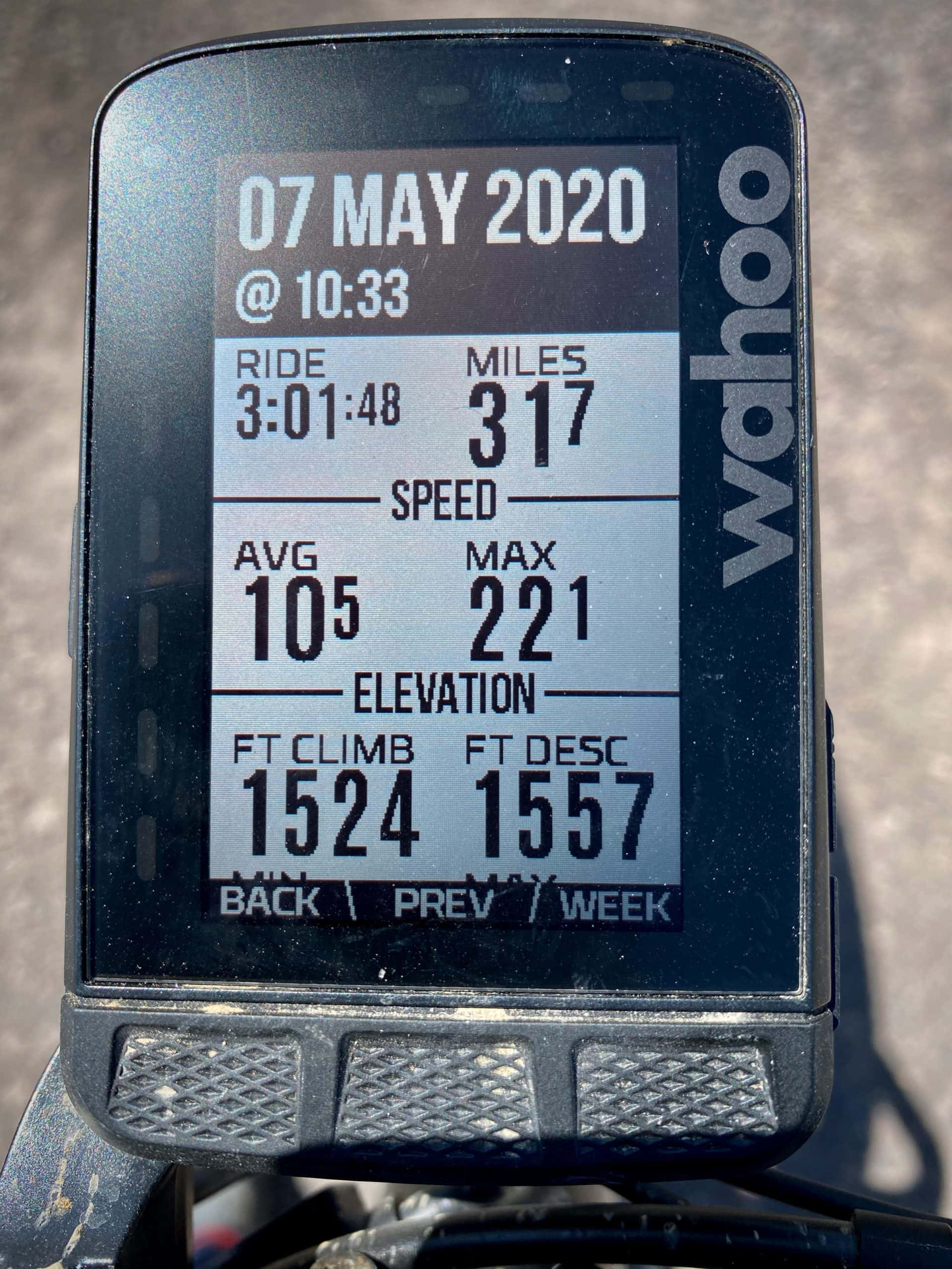 Gravel Girl's ride metrics for the Pink Lady route found on Dirty Freehub.