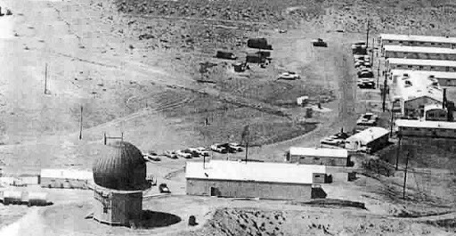 The old military installation atop Childs Mountain near Ajo, Arizona.