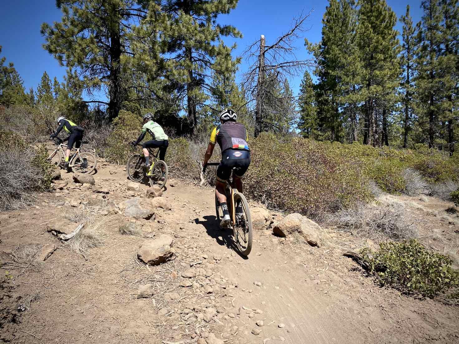 A bit of tech along Ben's trail for gravel cyclists.